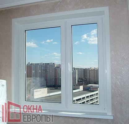 Окна ПВХ со стеклопакетами