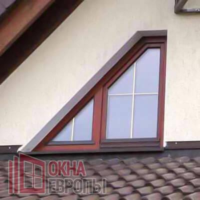 Деревянные окна с алюминиевыми накладками