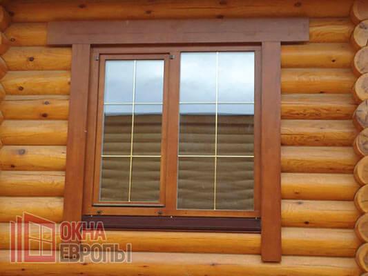 Окна из дерева в Москве