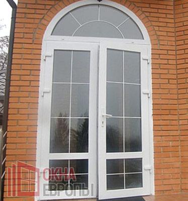 Фото дверей из пластика