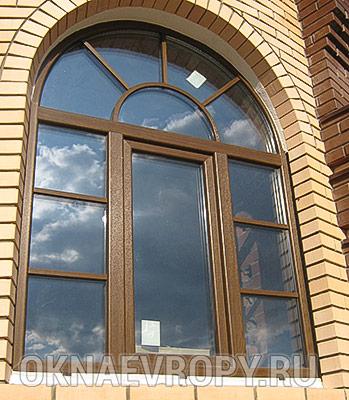 Фото окна неправильной формы