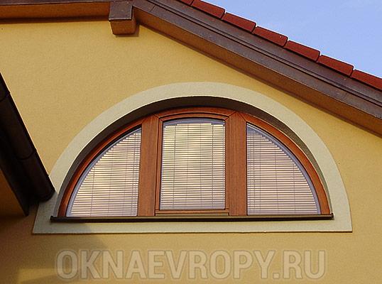 Нестандартные окна для загородного дома