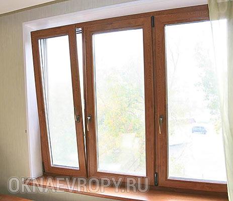 Ламинированные окна для квартиры