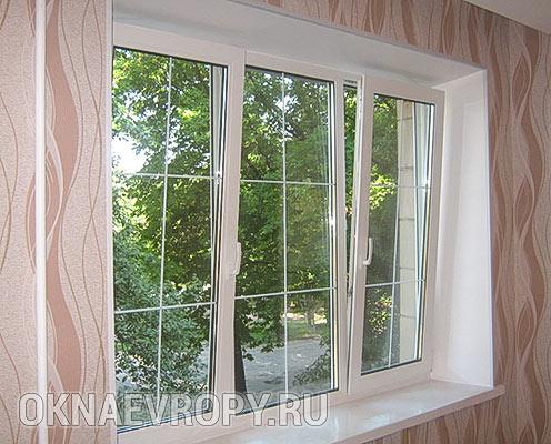 Окна со шпросами для квартиры
