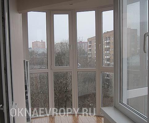 Витражное остекление квартиры панорамными окнами