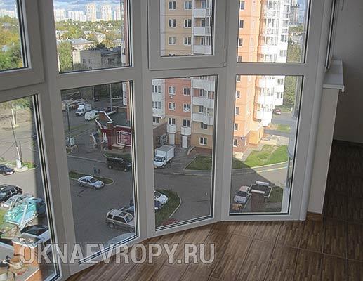 Остекление квартиры в пол