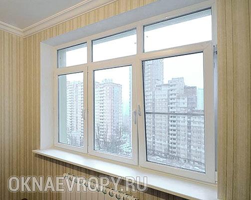Пластиковые окна в квартиру под ключ