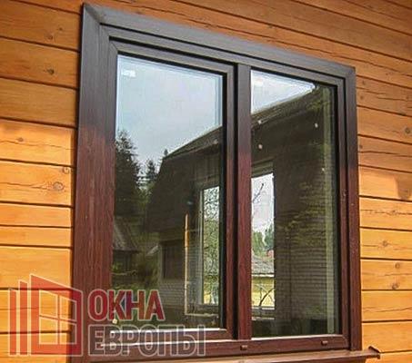 Окно с энергосберегающими стеклами