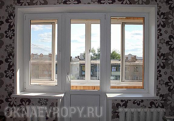 Балконный блок с мультифункциональным покрытием