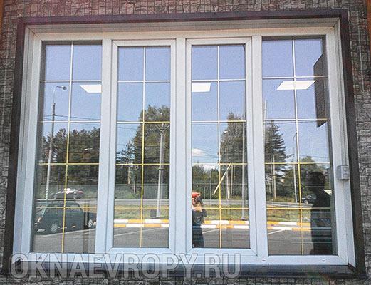 Фото окна с мультифункциональным стеклом