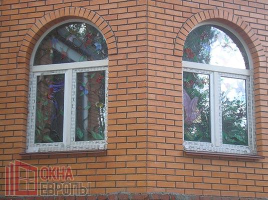 Окна из профиля Рехау