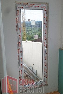 Пластиковые балконные двери Новотекс
