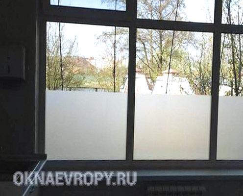 Фото матового стекла