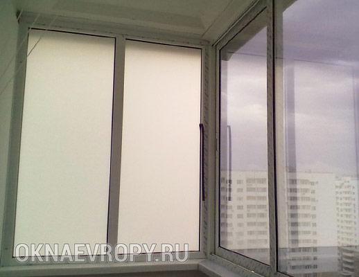 Непрозрачное окно