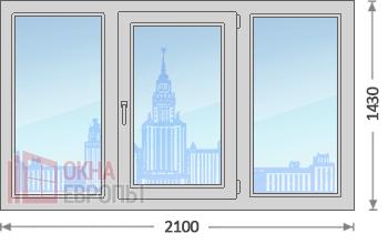 Цены на алюминиевые окна в Москве
