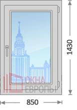 Цены на окна из теплого алюминия в Москве
