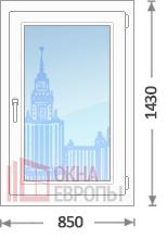 Цены на окна под ключ в Москве