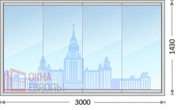 Цены на панорамные окна в Москве