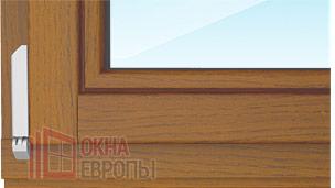 Окна из массива дерева со стеклопакетом