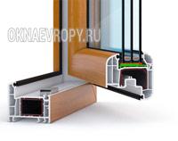 Коричневые окна ПВХ