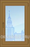 Купить коричневые пластиковые окна в Москве