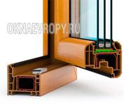 Ламинированные пластиковые окна