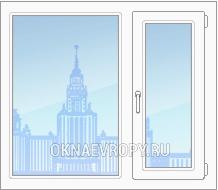 Цена на окна со стеклопакетом для квартиры