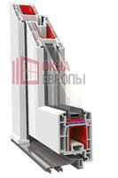 Алюминиевый порог пластиковых дверей