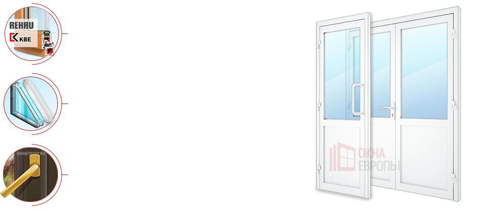 Устройство пластиковых дверей