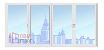 Цена на окна из профиля Provedal c640